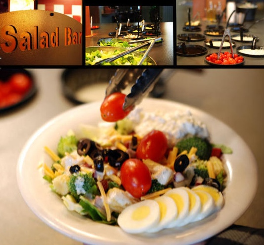 saladbar Salad Menu